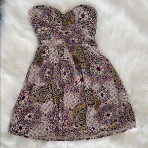 Band of Gypsies Strapless Dress. Small